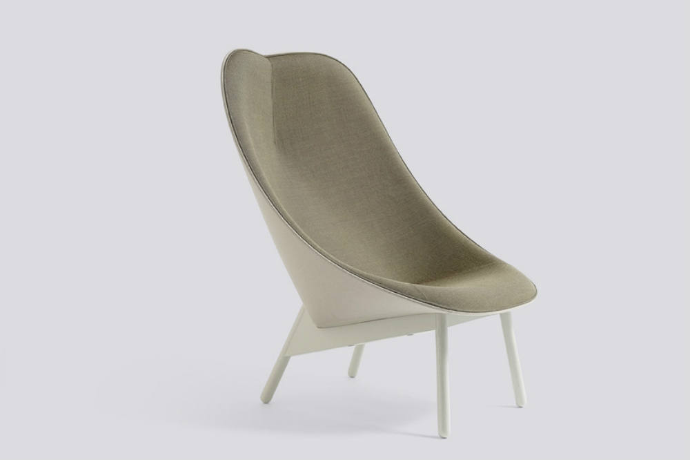 Sillon UCHIWA LOUNGE CHAIR by HAY