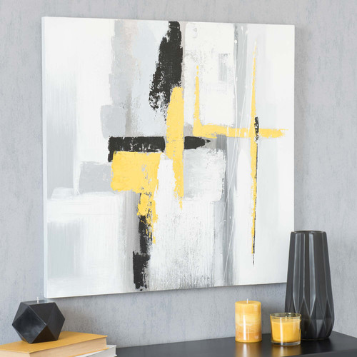 Comp. Maisons du monde Mod. ABSTRACT YELLOW