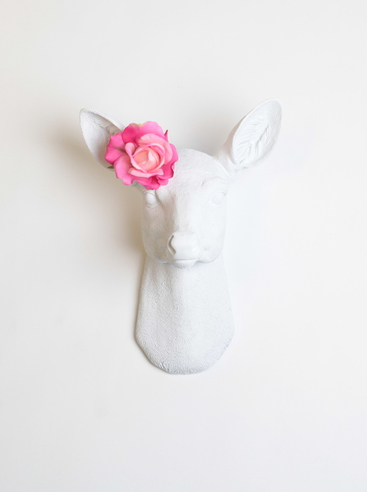 Comp. White Faux Taxidermy 2