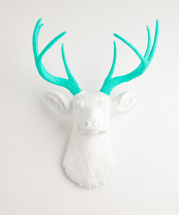 Comp. White Faux Taxidermy 3