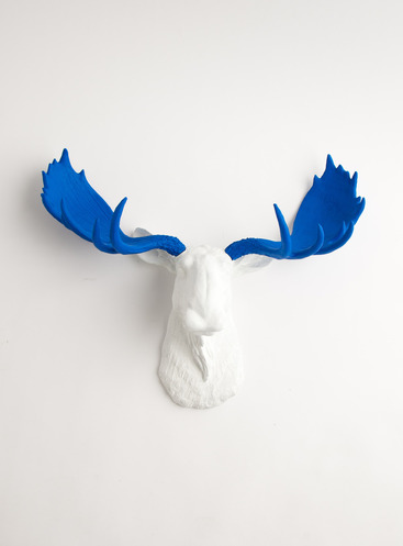 Comp. White Faux Taxidermy 4